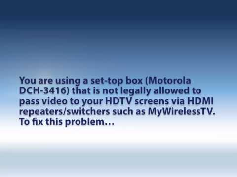 How to solve MyWirelessTV Reception Issues: Missing Audio and Video.m4v