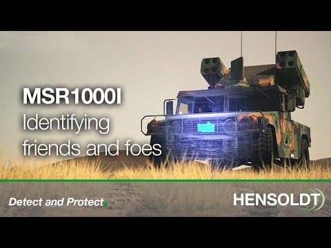 HENSOLDT MSR1000I – (Very) Short Range IFF Interrogator