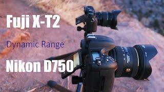 Fujifilm X-T2 vs. Nikon D750 | Shooting extremely high dynamic range
