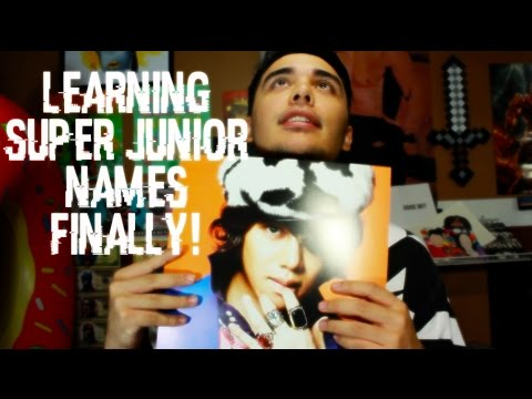 F#&KING FINALLY LEARNED THEIR NAMES | Unboxing (Super Junior Mr. Simple Album)