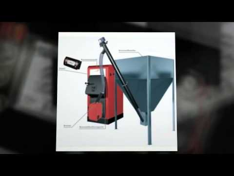 Pelletkesselset Orligno 100 BAFA Förderbar 16 kW Hygienespeicherset