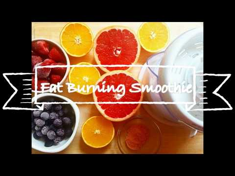Fat Burning Grapefruit Detox Smoothie Recipe-100% VEGAN