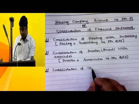 video Advanced Accounting New By CA Ranjay Mishra CA Inter Regular