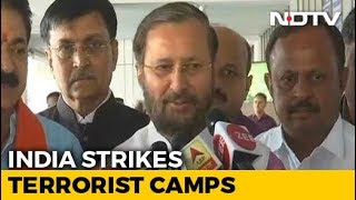 Necessary step by IAF: Prakash Javadekar on reports of str..