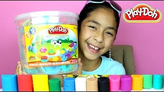 Tuesday Play Doh Huge Play Doh Bucket Adventure Zoo|B2cutecupcakes