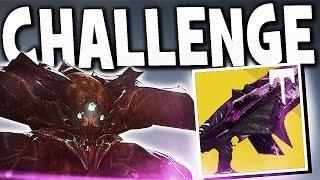 Destiny - NEW ORYX,  WARPRIEST & GOLGOROTH CHALLENGE MODE GUIDE EASY !!