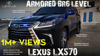 Lexus LX570 ARMORED Vehicle with Special Features | Carkid Reviews | #lexus #lx570