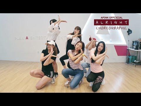 Apink 에이핑크 A L R I G H T Choreography Practice