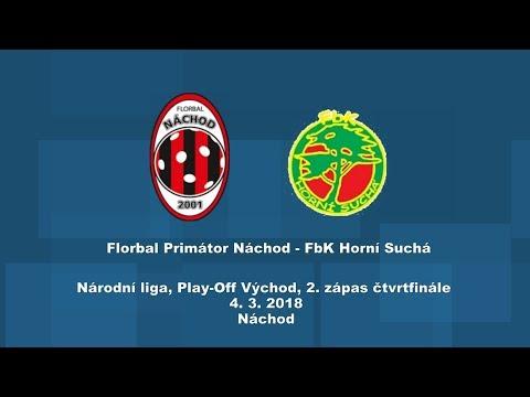 Národní liga PLAY-OFF, 2.zápas Náchod - Horní Suchá