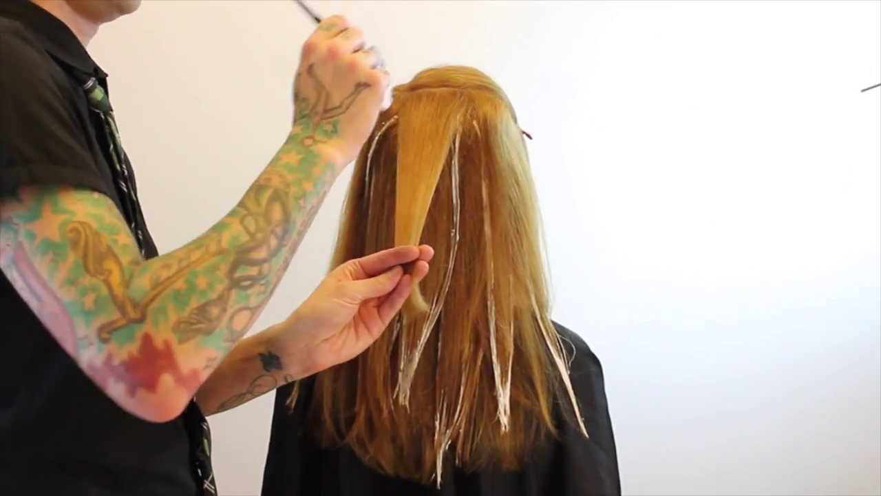 Balayage How To Balayage Hair Hair Color Technique
