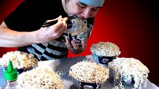 Crazy Ramen Eating Stunt (5.09kg)