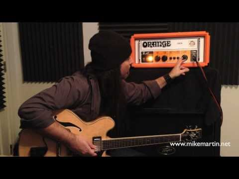 Orange OR50 & PPC412 Compact Demo by Mike Martin
