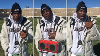 Deion Sanders UPSET His SUV was Broken In Offers Reward To Find Radio His friend Gave Him!