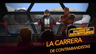 Halcón Milenario - Carrera de contrabandistas | Star Wars Galaxy of adventures