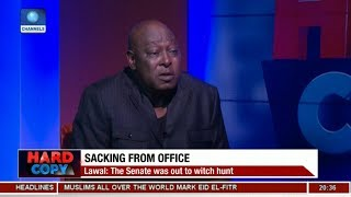 'Who Is The Presidency' Babachir Lawal Explains Controversial Question Pt 1 | Hard Copy |