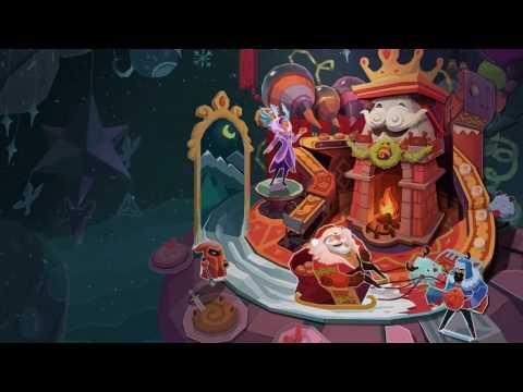 Snowdown Showdown 2016 (Christmas) League Of Legends Login Screen With Music