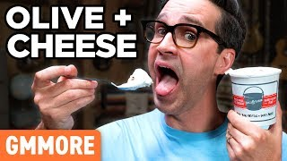Olive & Cheese Ice Cream Taste Test