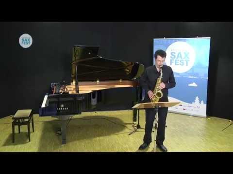 Basilio Merlino - Fase Eliminatòria - ANDORRA SAX FEST'14