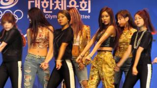 Sugar Free (슈가 프리) - T-Ara (티아라) Live @ Inaugural Ceremony of Korean Team (대표선수단 결단식)