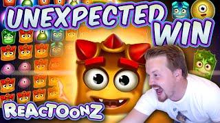 BIG WIN on Reactoonz! (No Garga needed!!)