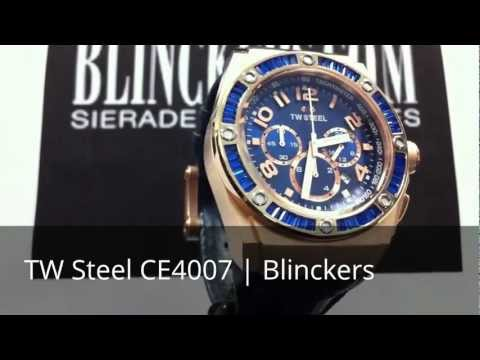 Horloge productvideo TW Steel CE4007 | Kelly Rowland | Blinckers.com