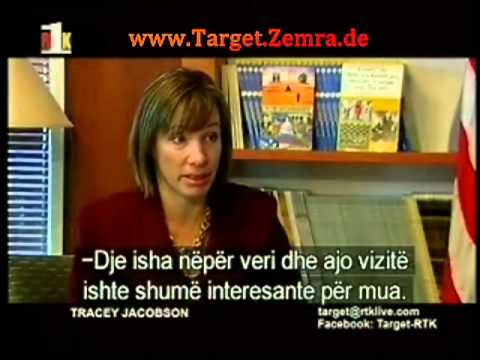 069 - Intervist e pare qe jep per mediat kosovare, ambasadorja e re amerikane, Tracey Jacobson