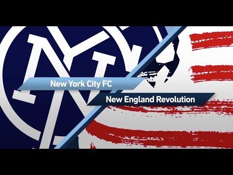 New York City vs New England Revolution