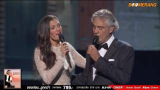 Andrea Bocelli : Cheek to Cheek duet with Veronica Berti from Top Hat