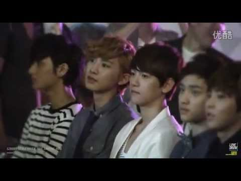 [Fancam] 120809 EXO at SM.Art Exhibition's Opening