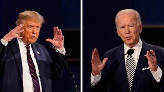 Trump, Biden contrast in separate town halls