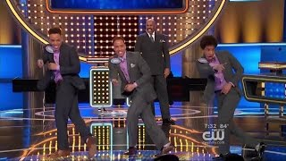 We Danced on FAMILY FEUD!! (Watch until the end)
