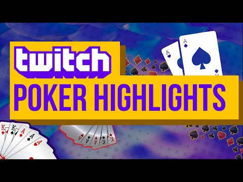 TOP Twitch Poker moments | Amazing Easywithaces Winnings