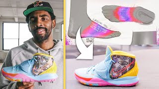 Kyrie Irving Breaks Down the KYRIE 6 Sneaker   Signature Sneakers   GQ Sports
