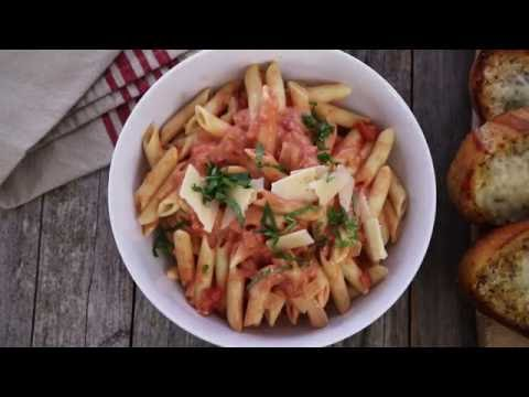 Pasta Recipes - How to Make Easy Vodka Sauce