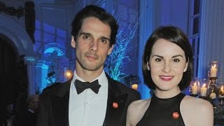 'Downton Abbey' Star Michelle Dockery's Fiance Dies at 34