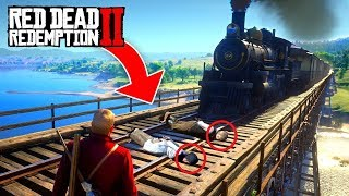 RED DEAD REDEMPTION 2 FAILS & FUNNY MOMENTS!