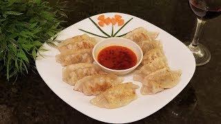 Easy Home Cook Frozen Dumplings to Pot Sticker / Fried Dumplings (HD)