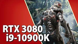 RTX 3080 + i9-10900K // Test in 10 Games | 1080p, 1440p, 4K