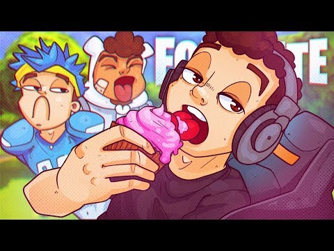 A Sensual Buttercream Funfetti Cupcake w/ Sprinkles - Fortnite Battle Royale!