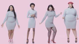 Women Sizes 0 Through 28 Try on the Same Bodycon Dress   Glamour