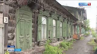 Сразу двум омским памятникам деревянного зодчества грозит исчезновение