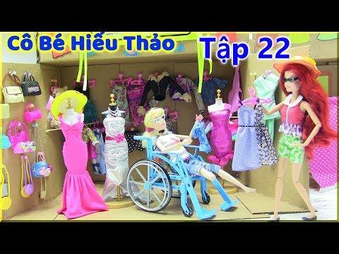Phim Cô Bé Hiếu Thảo_Tập 22_ Chị Em Hạ My Đi Shop Quần Áo Mua Đồ Cho Như Tiên ( búp bê Barbie)