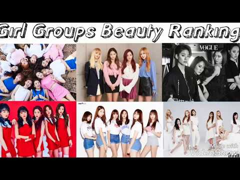Kpop Girl Groups Beauty Ranking 2017