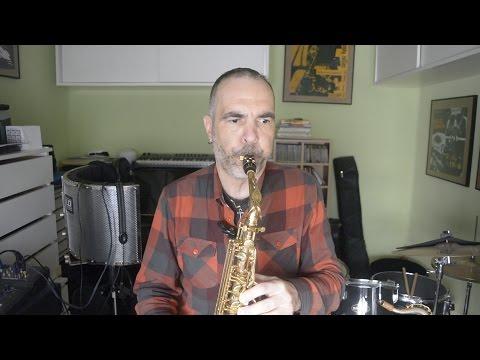Respiración circular en el saxofón.