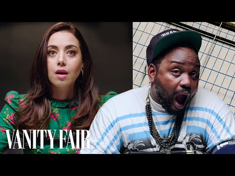 Aubrey Plaza and Brian Tyree Henry Take a Lie Detector Test   Vanity Fair