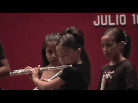 Himno a la alegría Flauta transversa Jenny EMUSIC, ode to joy, flute 10 Y/o girl
