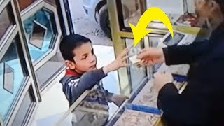 Child Entering A Jewelry Shop To Buy A Gift For His Mother What Happend Next  Will Make You Cry !