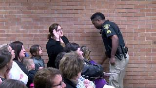Vermilion Teacher escorted out of school board meeting in handcuffs