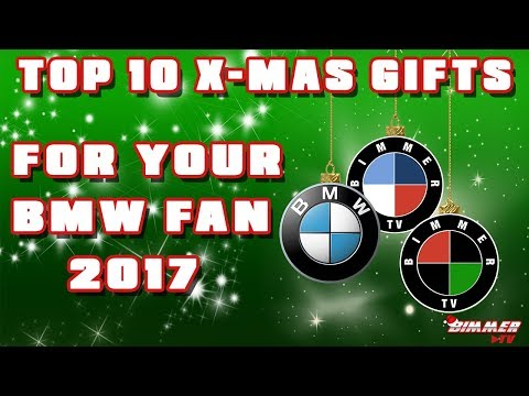 Top 10 Christmas Gifts For Your BMW Fanatic 2017 (Bimmer TV Episode 10)