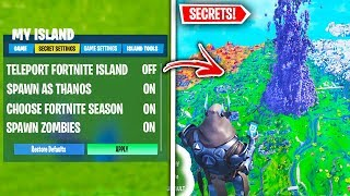 Top 10 Hidden Fortnite Creative Mode Secrets YOU NEED TO KNOW ABOUT!